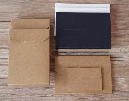 Postcard Size Kraft Paper Boxes (5 Sizes)