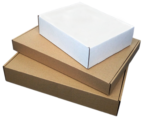 Kraft Corrugated Shipping Boxes (thickness 1.3mm, Multiple Sizes)